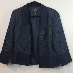 Adrianna Pappell Tweed Cropped Blazer